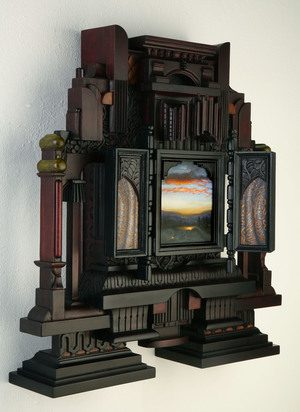 """Museum Group Exhibition, """"One Night in California, Contemporary Nocturnes"""", Bakersfield Museum of Art"""